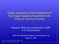 Quality Assessment of Data Collected from Non-English Speaking ...