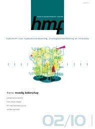 Lees het nummer hier - STG / Health Management Forum