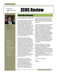 ZCHS Review - Boone County Community Network
