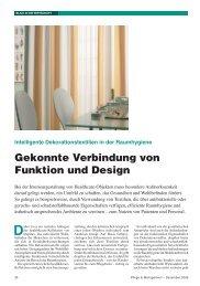 Gekonnte Verbindung von Funktion und Design - Drapilux