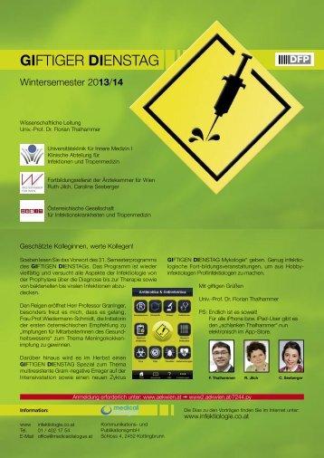 Programm.pdf (291KB) - giftiger samstag/giftiger dienstag