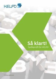 Språkprofil, nynorsk - Språkrådet