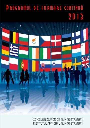 Programul de formare contina 2013.pdf - Institutul Naţional al ...