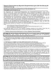 Unfallversicherung - Deutsche Ärzte Finanz