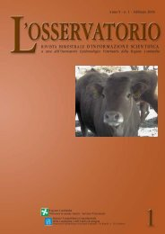 Sanità animale - IZS della Lombardia e dell'Emilia Romagna