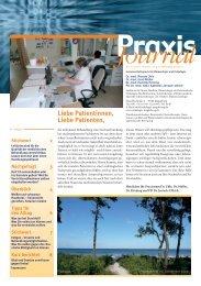 Ausgabe 19 / 2010 - Schwerpunktpraxis für Hämatologie und ...