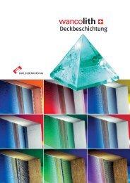 Systemblatt Wancolith - KABE Farben