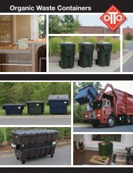 Organic Waste Containers