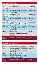 Samstag, 22.06.2013 Donnerstag, 20.06.2013 Freitag ... - Werratal - Page 2
