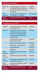 Samstag, 22.06.2013 Donnerstag, 20.06.2013 Freitag ... - Werratal - Page 3