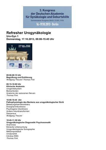 Information und Programm als Download (PDF) - AGUB