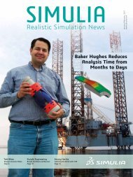 Realistic Simulation News from SIMULIA