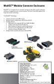 ModICETM - SHS - Cinch Connectors - Page 5