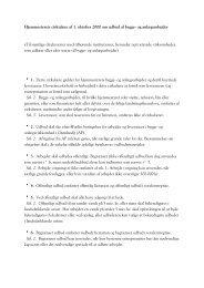 Hjemmestyrets cirkulære af 1. oktober 2000 om udbud af ... - Byginfo