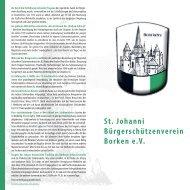 herunterladen - St. Johanni Bürgerschützenverein Borken