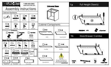 1 - Euro-Rite Cabinets