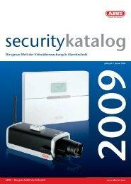 Security Center Katalog 2009 - Audiotec