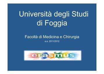 Sedi Convenzionate & Equipollenze 2011-12 - Medicina e chirurgia ...