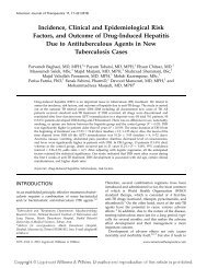 Incidence, Clinical and Epidemiological Risk Factors, and Outcome ...