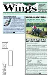 April/May 2006 - Washington Pilots Association