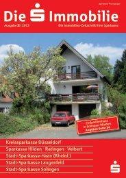 Ausgabe III / 2013 (PDF, 7,7 MB) - Stadt-Sparkasse Solingen