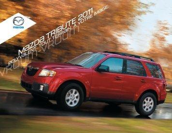 Brochure du Tribute 2011 - Mazda Canada