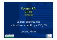Prof. Luciano Hinna - Forges - Forum PA