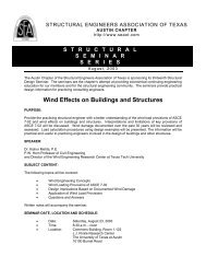 Wind Effects on Buildings and Structures - SEAoT