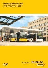 Die PostAuto Schweiz AG - PostBus