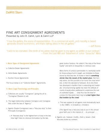 Consignment Agreement Kc Kids