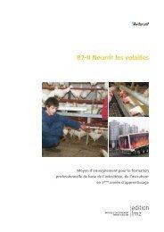 B7-II Nourrir les volailles - Aviforum