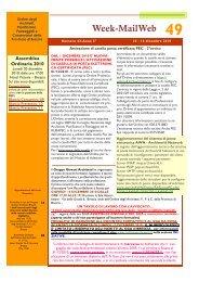 numero 43 – 10/16 dicembre 2010 - Ordine degli Architetti ...