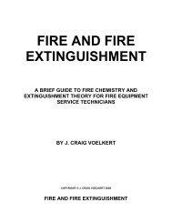 FIRE AND FIRE EXTINGUISHMENT - Amerex Corporation