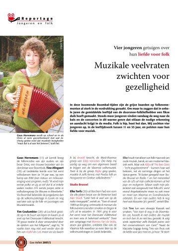 Jongeren en Folk - Muziekmozaïek