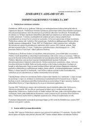 zimbabwen aids-orvot ry. toimintakertomus vuodelta 2007