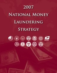 2007 National Money Laundering Strategy - OCC