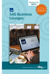 SAS Business Lounges - DG Media