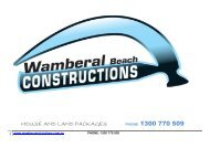 HOUSE AND LAND PACKAGES PHONE 1300 770 509