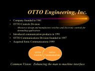 OTTO Overview For Web - criticalradio.com