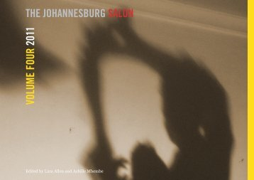 VOLUME FOUR 2011 THE JOHANNESBURG SALON
