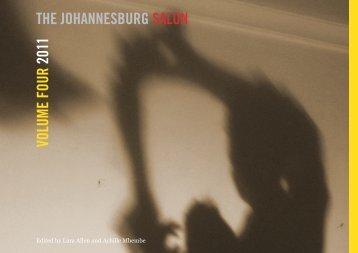 VOLUME FOUR 2011 THE JOHANNESBURG SALON