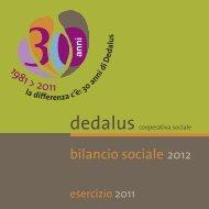 Estratto - Dedalus cooperativa sociale