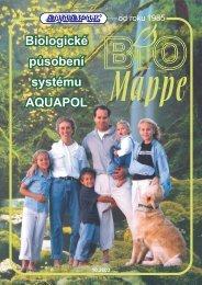 Biologické působení systému AQUAPOL