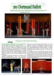Ausgabe März 2013 - Ballettfreunde Dortmund