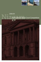 International Moot Court Competition - The Canada-US Law Institute