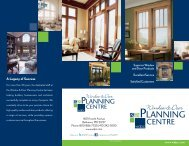 to view this brochure from Window and Door Planning Centre - NFMT