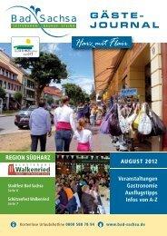 August 2012 - Samtgemeinde Walkenried
