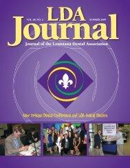 Journal of the Louisiana Dental Association New Orleans Dental ...