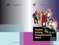 Ingles bilang Pangalawang Wika Ingles bilang Pangalawang Wika