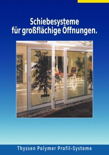 LOGGIA- Schiebefenster/Türen, die besonders schmale und leichte ...